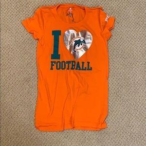 Miami dolphins shirt!